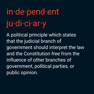 Independent Judicary